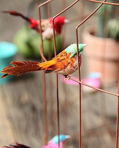 Hanglamp met vogeltjes   pendant light with birds by www.dutchdilight.com
