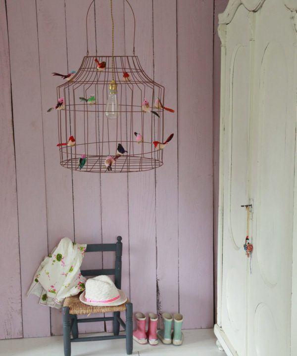 hanglamp vogeltjes babykamer