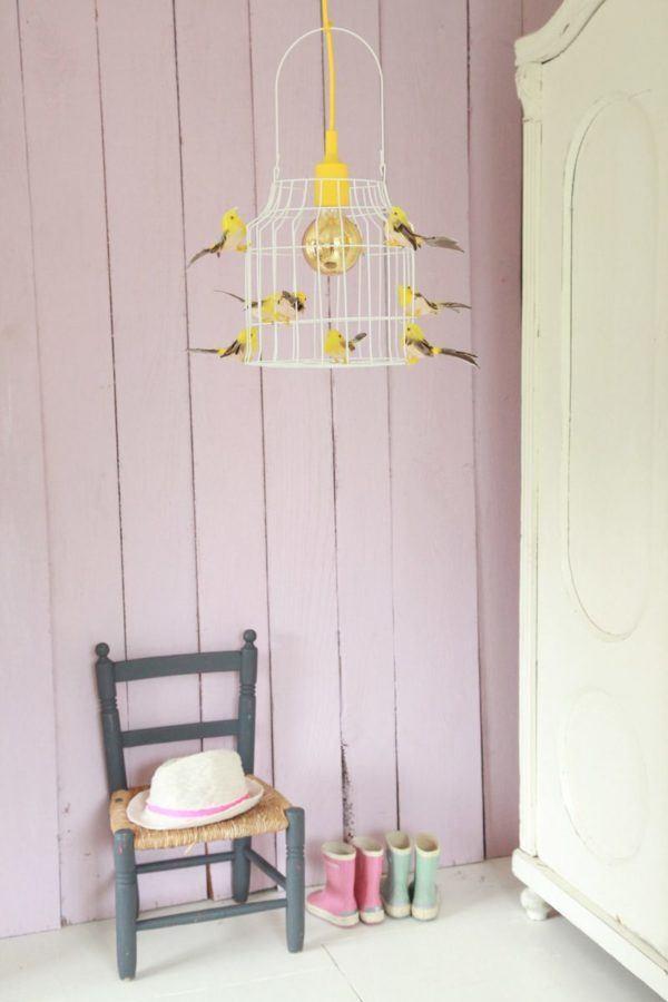 hanglamp vogels kinderkamer