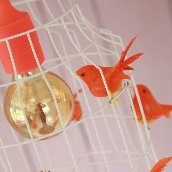 hanglamp vogels kinderslaapkamer