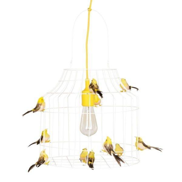 hanglamp vogeltjes geel