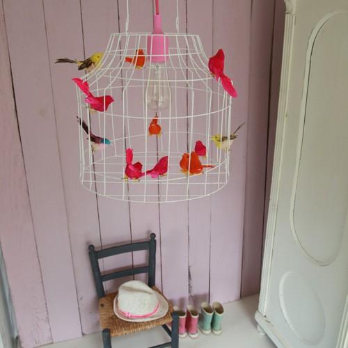 rose hanglamp babykamer