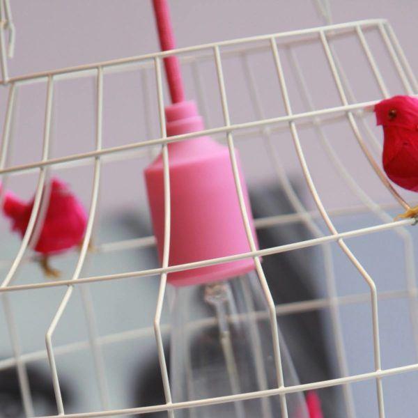 rose hanglamp meisjeskamer