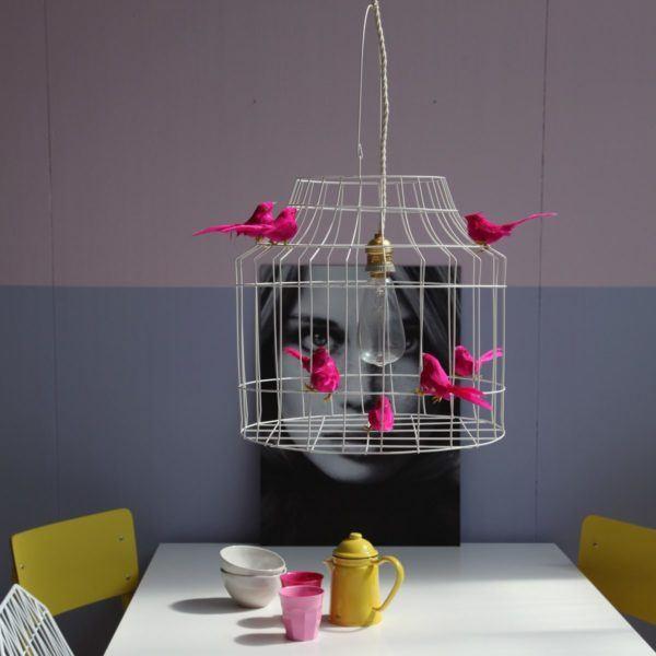 vogelkooi hanglamp