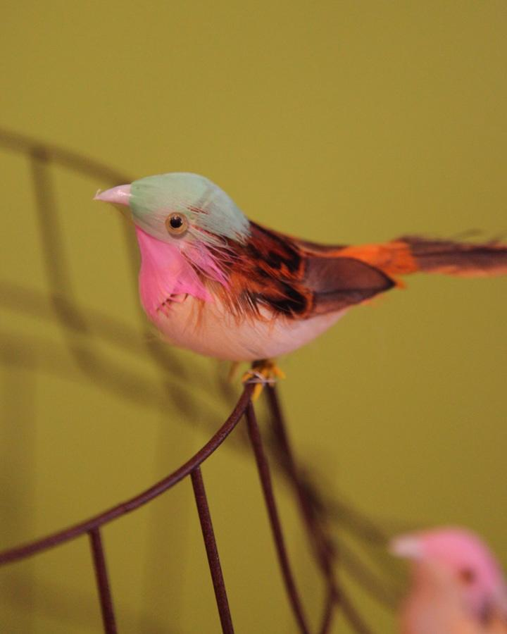 Libelle hanglamp vogeltjes