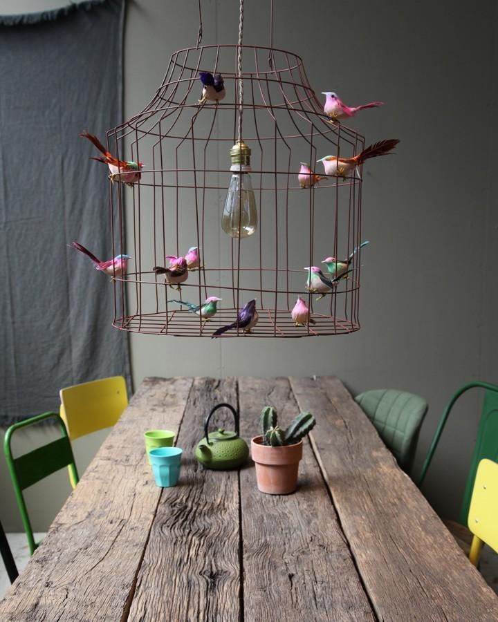hanglamp vogeltjes Libelle