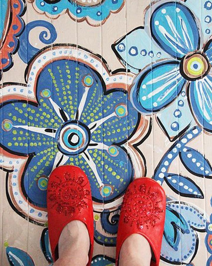 kinderkamer vloer verven