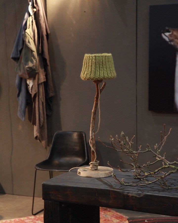 stoere tafellamp landelijke stijl