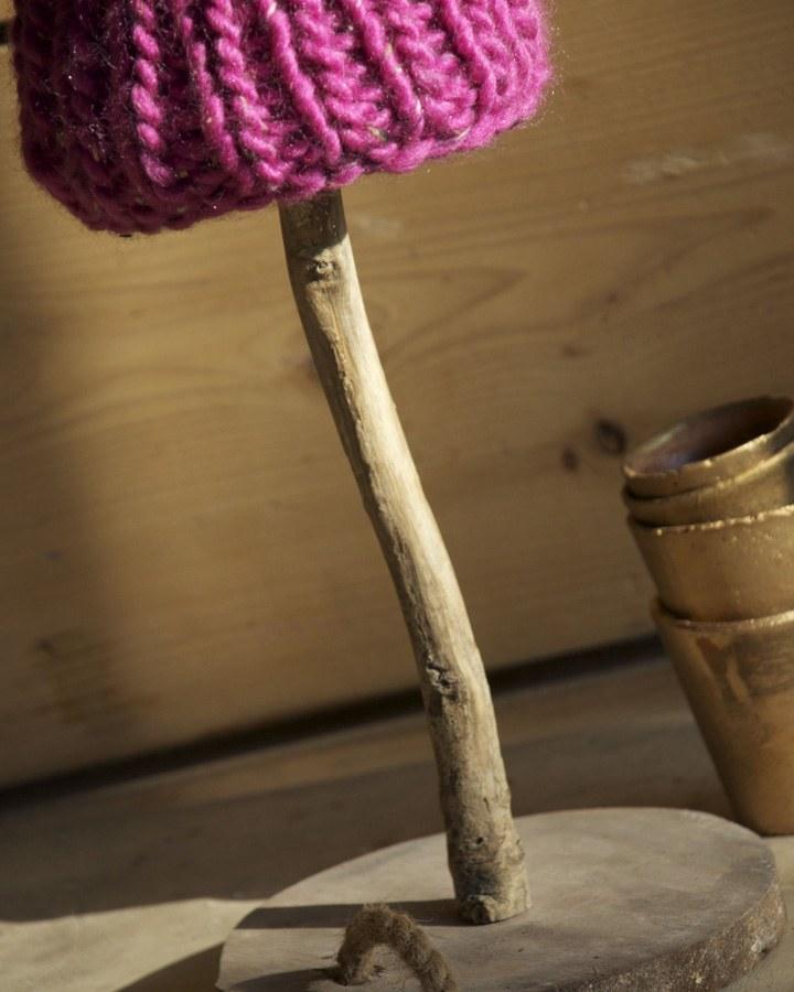 tafellamp landelijke stijl stoer