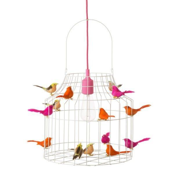 hanglamp vogeltjes neon