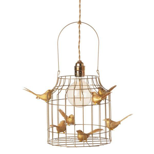 gouden hanglamp