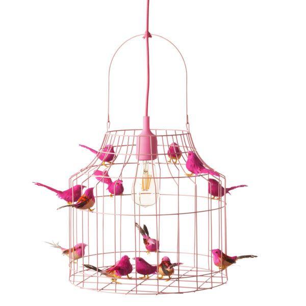 hanglamp roze kinderkamer