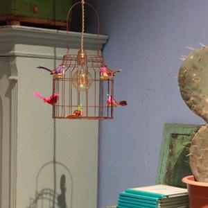 hanglamp vogels vintage